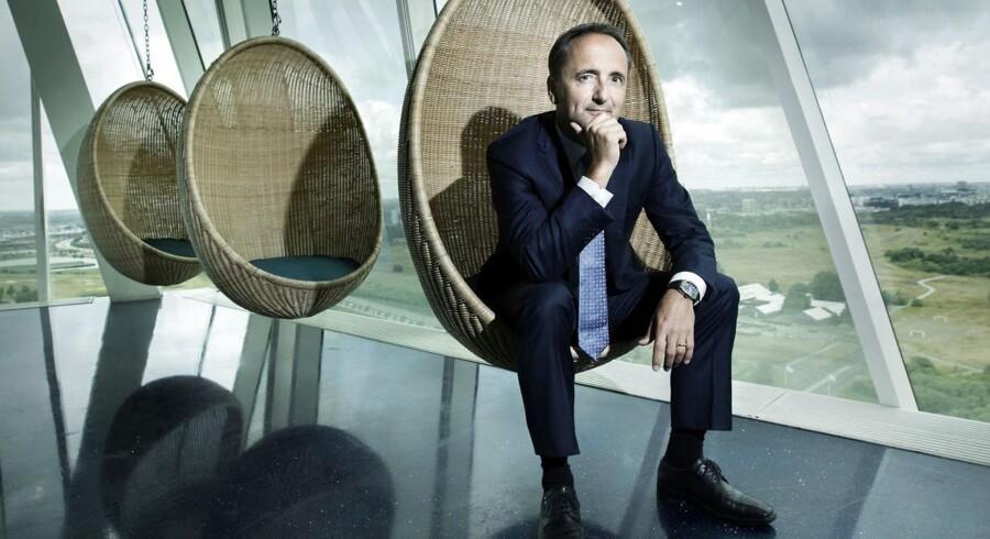 Jim Hagemann Snabe er vant til at have travlt, men 80 møder med deltagelse af verdens mest indflydelsesrige politikere og erhvervsfolk samt en perlerække af regerings- og statschefer kan tage pusten fra de fleste. Men det følger med, når man har en nøglerolle i næste uges afvikling af World Economic Forums møder i Davos. Arkivfoto: Mads Nissen