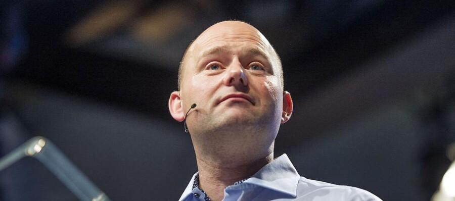 Søren Pape markerer sig nu over for Venstre.
