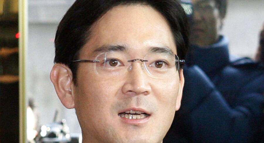 Lee Jae-yong er kronprins i Samsung-imperiet, hvor han står til at overtage faderen, Lee Kun-hees rolle i verdens største producent af mobiltelefoner, TV-apparater og hukommelseschips. Arkivfoto fra 2008: Hong Jin-hwan, AFP/Scanpix