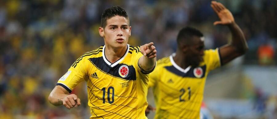 Colombias James Rodriguez har været VMs helt store overraskelse og oplevelse. Fem mål er angriberen nu oppe på.