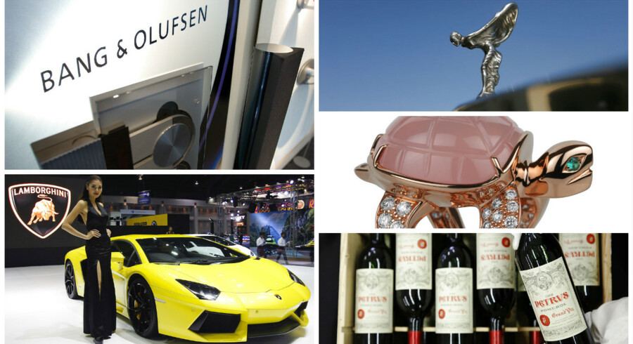Detr kinesiske selskab sælger i dag en lang række luksusprodukter som Rolls-Royce, Lamborghini, smykker fra Boucheron og et af verdens allerdyreste vinmærker, Petrus.