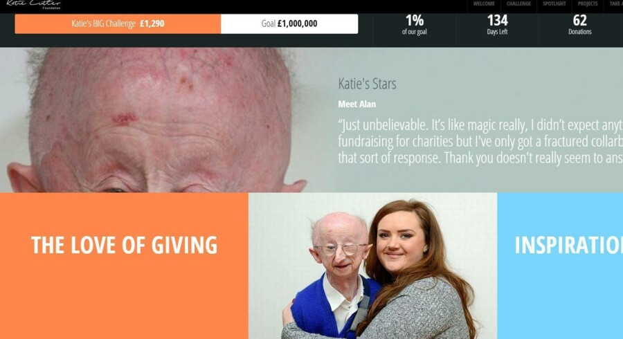 Katie Cutlers hjemmeside.