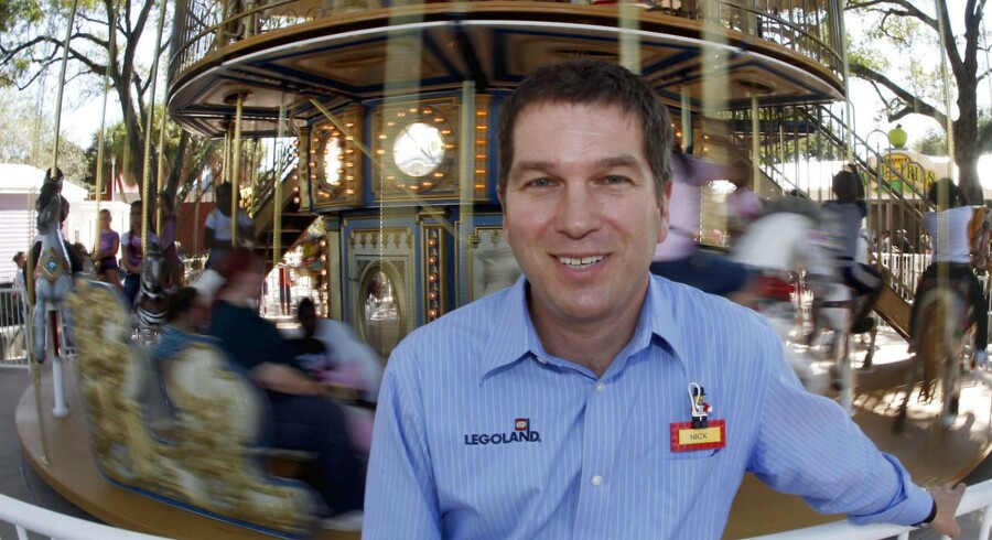 Nick Varney, direktør for Merlin Entertainments er manden bag de 17 Lego-forlystelsesparker verden over. Foto: Pierre Ducharme