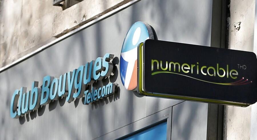 Bouygues-koncernen nægter at give op, selv om konkurrenten Numericable har sikret sig førsteretten til at købe Frankrigs næststørste teleselskab, SFR. Arkivfoto: Charles Platiau, Reuters/Scanpix