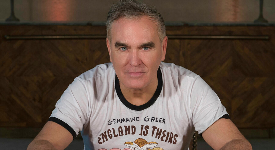 Morrissey er aktuel med karrierens 11. soloalbum »Low In High School«.