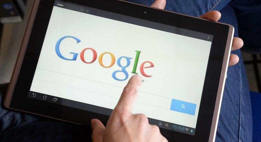 Internetgiganten Googles brugerbetingelser overtræder europæisk lovgivning og skal ændres straks. Arkivfoto: Damien Meyer, AFP/Scanpix
