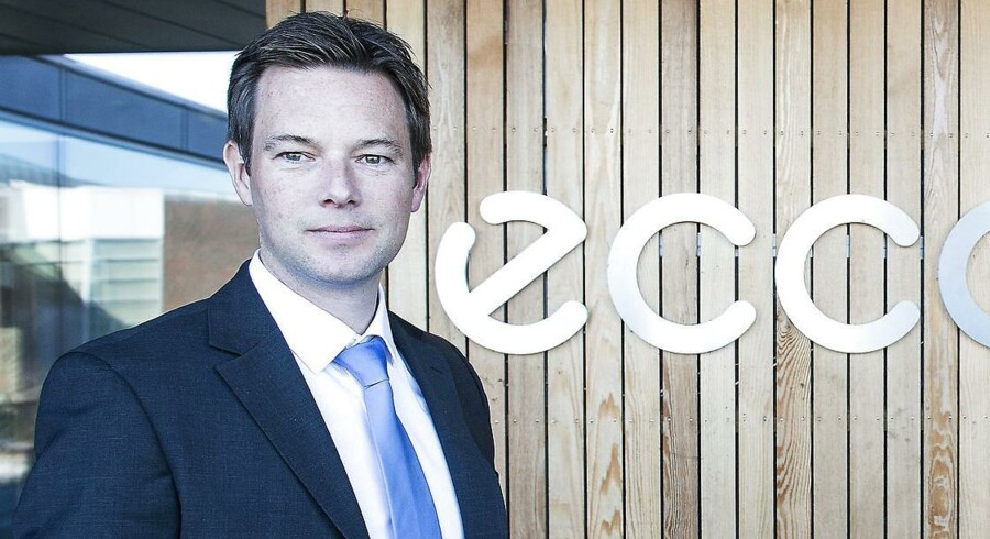 Finansdirektør Steen Borgholm har sammen med den øvrige Ecco-ledelse sat fokus på at accelererer i USA.