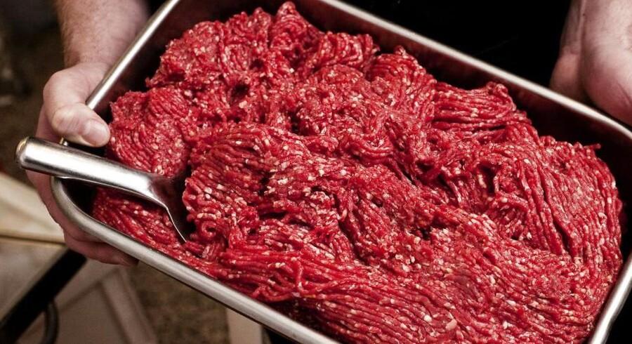 ARKIVFOTO. I en screening af 70 tilfældige oksekødsprodukter foretaget af Fødevarestyrelsen, har man fundet svinekød i hver ottende prøve.