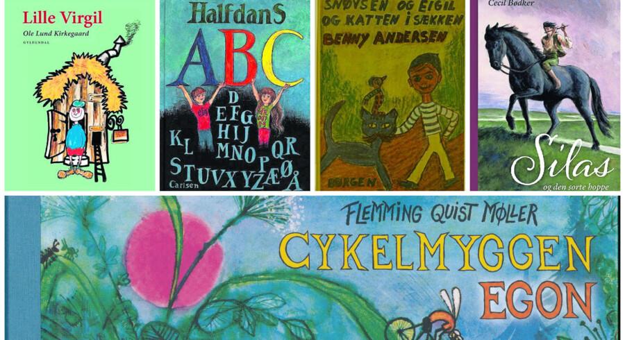 I 1967 udkom en håndfuld revolutionerende børnebøger på dansk. Vi fejrer 50 års jubilæet med fem genlæsninger.