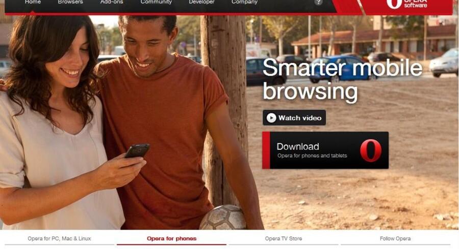 Norske Opera dropper nu sin egen netmotor og vælger den samme, som Apple bruger i Safari.