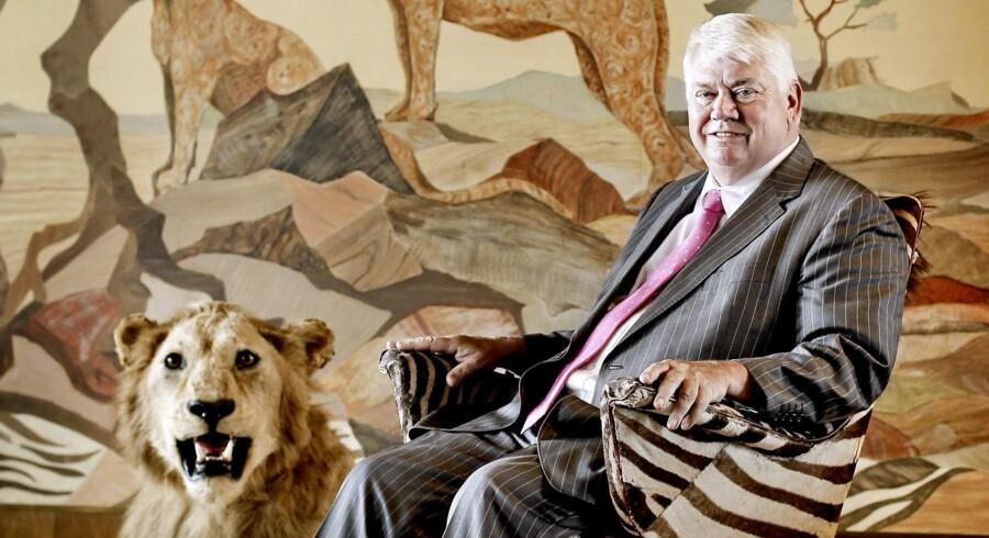 Familien Clausen er blevet god for 10.4 mio. kr. Her ses familieoverhoved og storvildtsjæger Jørgen Mads-Clausen