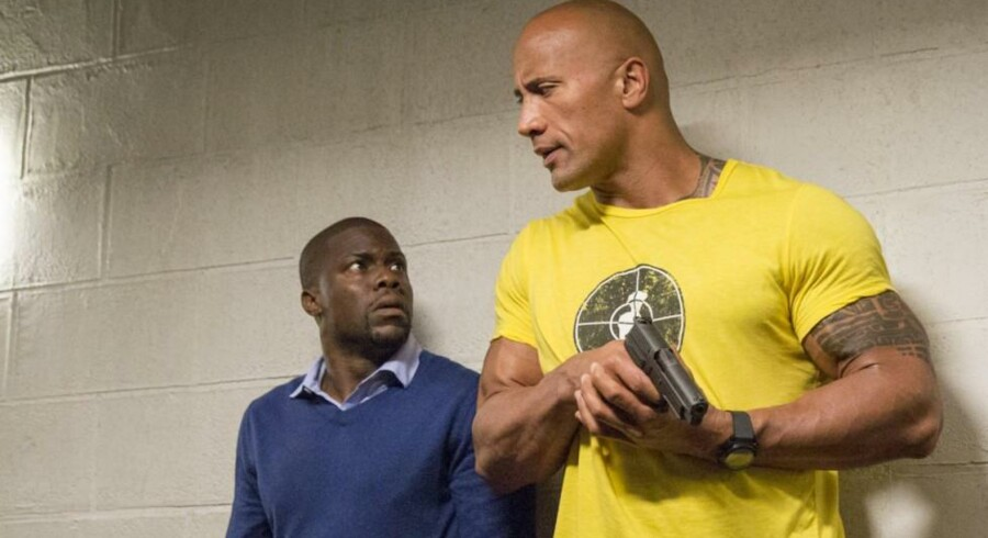 Kevin Hart og Dwayne Johnson i »Central Intelligence«. Foto: PR