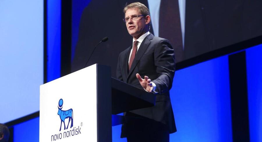 Novo Nordisk-topchef Lars Rebien Sørensen kan se frem til ekstra indtjening, når en frihandelsaftale mellem Europa og USA falder på plads. Den såkaldte TTIP-aftale mellem Europa og USA lander formentligt først i løbet af 2017.