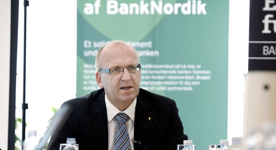 Janus Petersen, forhenværende topchef i Banknordik.