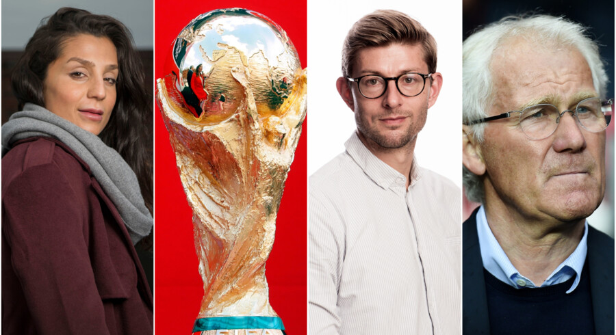 Nadia Nadim og Martin Borre forskellige favoritter til en VM-vinder, og Morten Olsen vil slet ikke gisne på en vinder.