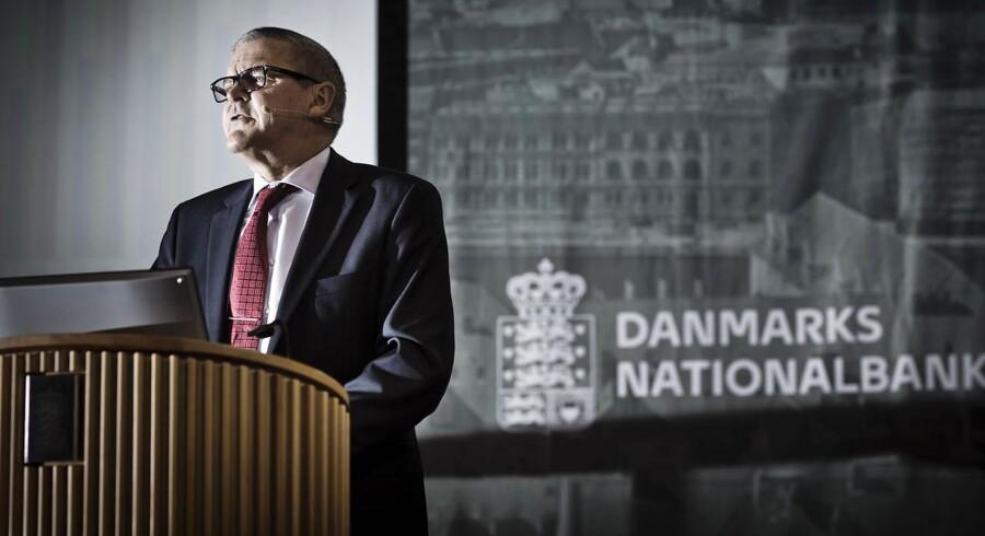 Nationalbankens direktør Lars Rohde