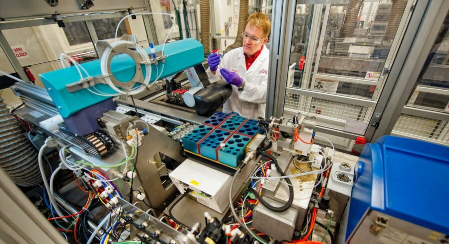 Arkivfoto: Det amerikanske medicinalselskab Eli Lilly venter en vækst på op til 5 pct. i salget i 2018, hvilket særligt vil være trukket af en række relativt nye produkter - herunder diabetesmidlerne Trulicity, Basaglar og Jardiance.