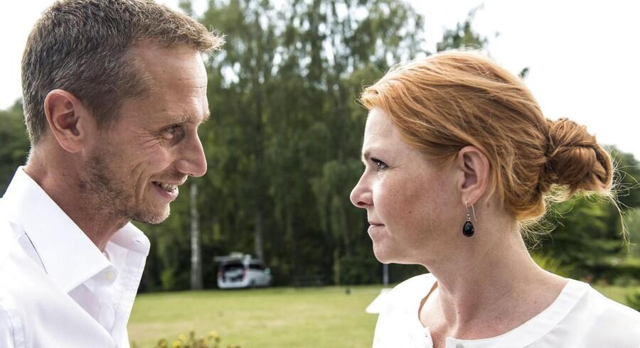 Kristian Jensen og Inger Støjberg