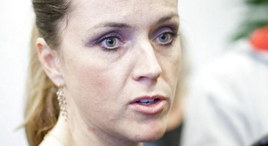 Social- og integrationsminister Karen Hækkerup (S) var vært for lanceringen af Danmarks nye frivillighedscharter. Arkiv