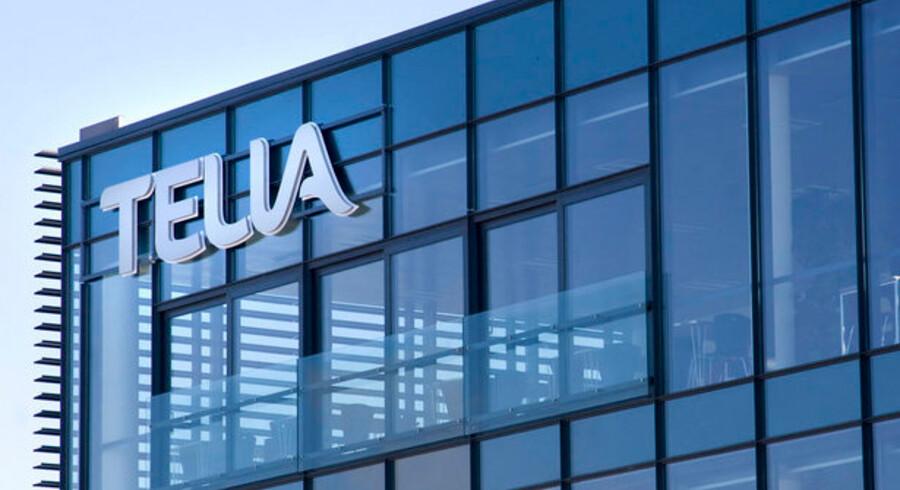 Priserne stiger voldsomt hos Telia i Danmark. Foto: Scanpix