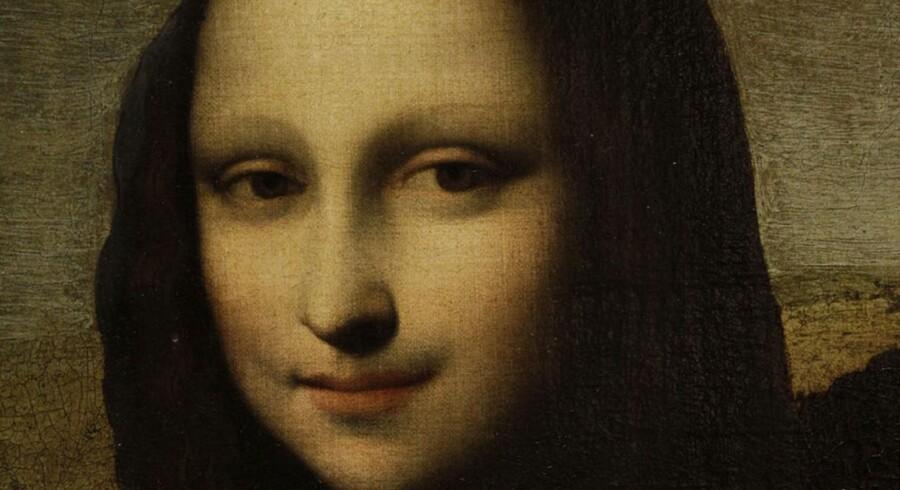 """""""Mona Lisa"""" blev formentlig malet i begyndelsen af 1500-tallet."""