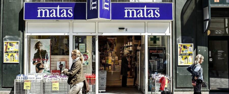 Matas går nu i prisoffensiv for at kapre de tabte kunder tilbage. (Foto: Jeppe Bjoern Vejloe/Scanpix 2013).