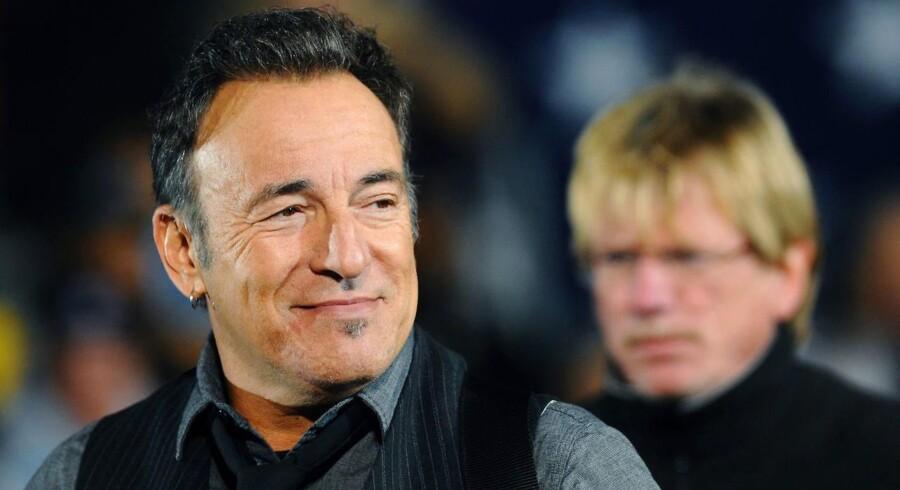Bruce Springsteen - på vej med længe ventet selvbiografi.