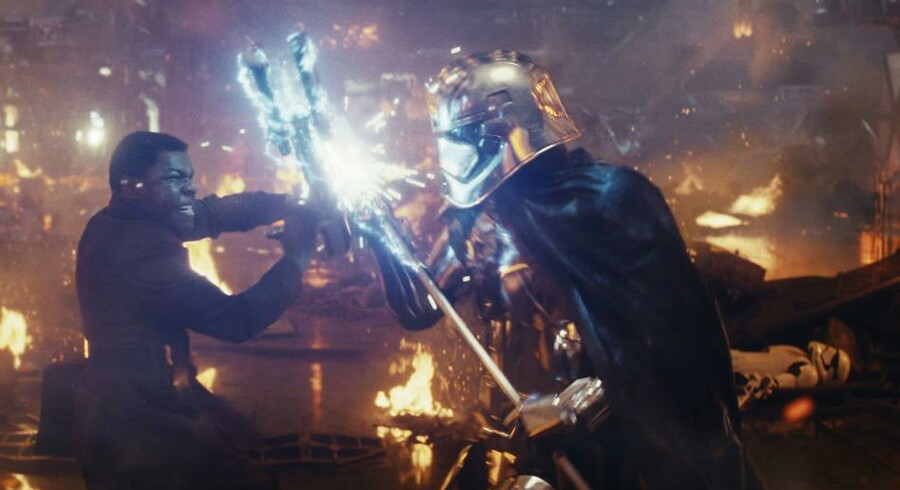 »The Last Jedi« har premiere onsdag og er den ottende film i »Star Wars«-serien, som går tilbage til 1977.