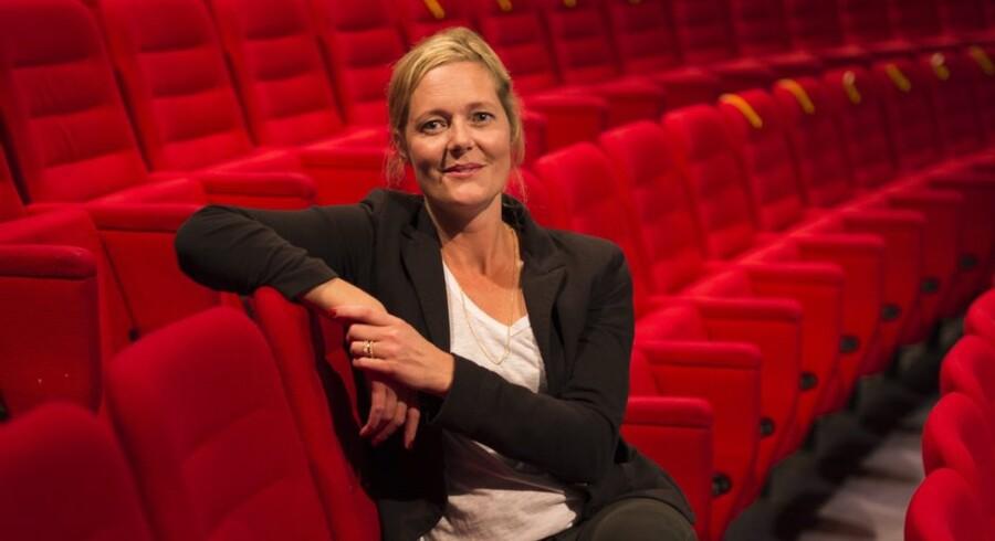 Mette Wolf, der i januar tiltrådte som ny direktør på Nørrebro Teater, sætter til februar næste år teaterklassikeren »Melodien, der blev væk« op. »Den rummer det, jeg gerne vil have, Nørrebro Teater skal rumme. En god og solid historie, men historien i sig selv er ikke det sjoveste – det er i måden, vi realiserer den på, at oplevelsen bliver sjov og underholdende,« siger Mette Wolf. Arkivfoto: Søren Bidstrup