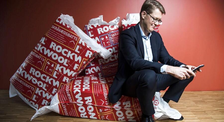 Rockwools direktør Jens Birgersson skaber ikke resultater, som Sydbank er særlig imponeret over.