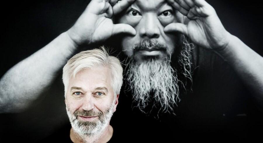Kunsthandleren Jens Faurschou er Ai Weiweis danske kontakt. Han fortæller, at han har fået tilsagn om at kunne købe Lego-klodser til kunstneren og systemkritikeren Ai Weiwei. Her ses Faurschou på sit galleri i Nordhavnen.