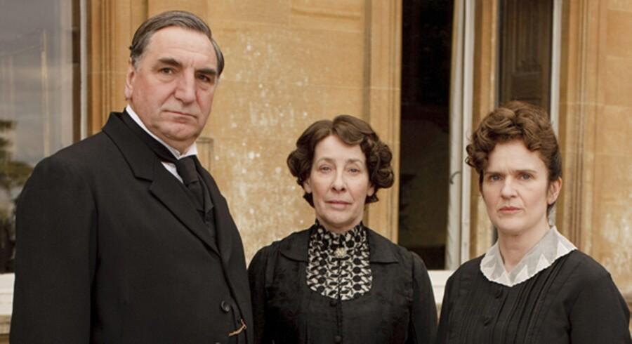 »Downton Abbey« gør klar til et specielt juleafsnit.