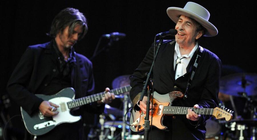 Bob Dylan i koncert - dog ikke i Falconer Salen.