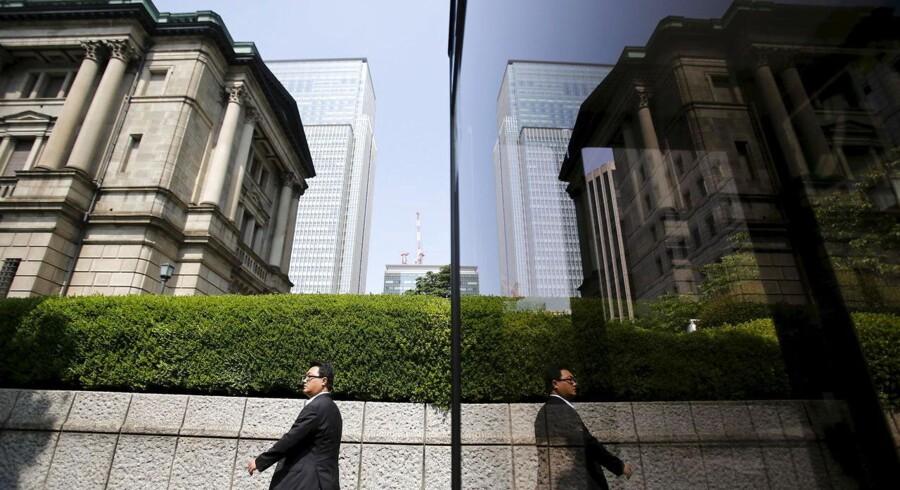 The Bank of Japan bygningen i Tokyo.