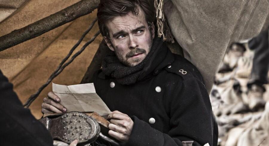 1.209.000 så med søndag aften, da femte afsnit af Ole Bornedals dramaserie »1864« blev sendt på DR1. Første afsnit blev fulgt af 1.690.000 danskere.