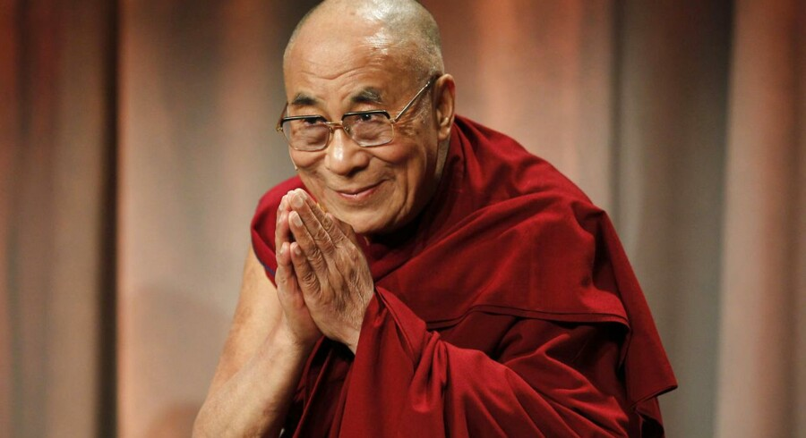 ARKIVFOTO. Det er ikke et politisk besøg, når Dalai Lama i februar 2015 kommer til København.