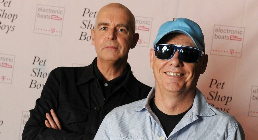 Neil Tennant (tv.) og Chris Lowe har leveret endnu en Pet Shop Boys-udgivelse. Fot0: Britta Pedersen/EPA