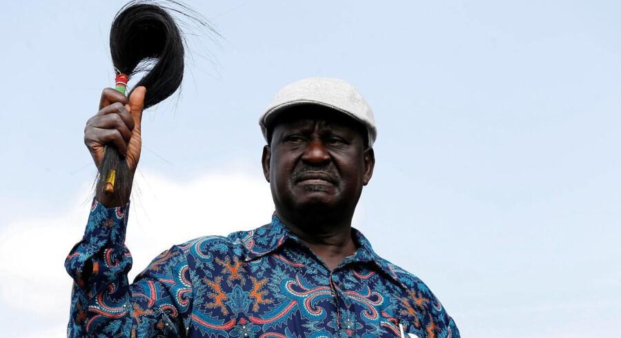 Oppositionsleder Raila Odinga.