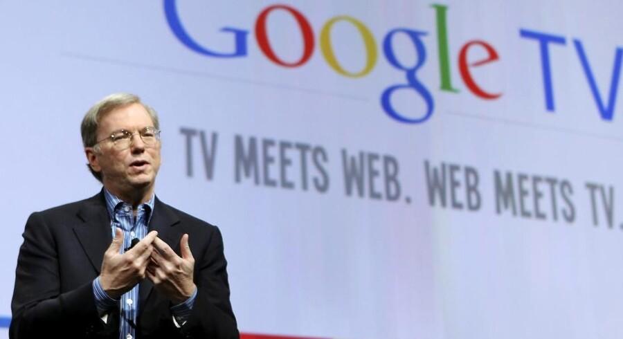 Googles bestyrelsesformand og tidligere adm. direktør Eric Schmidt.