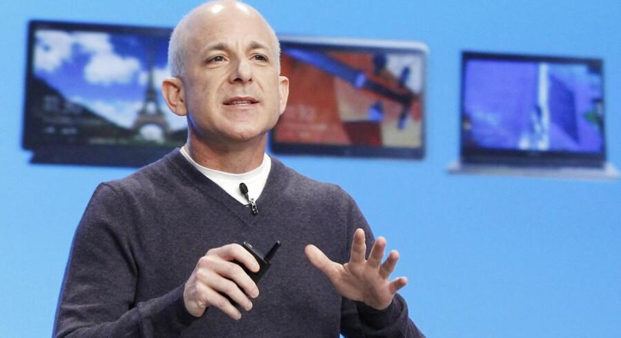 Steven Sinofsky var ansvarlig for Windows og dermed lanceringen af Windows 8, inden han kort efter forlod Microsoft på grund af uoverensstemmelser med topchef Steve Ballmer. Arkivfoto: Lucas Jackson, Reuters/Scanpix