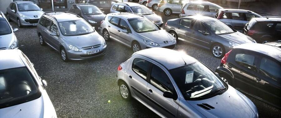 Bilsalget bliver ved med at stige i Danmark.