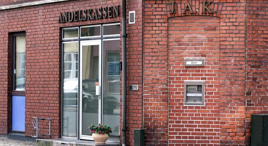 Andelskassen J.A.K. Slagelse bliver overtaget af Finansiel Stabilitet.