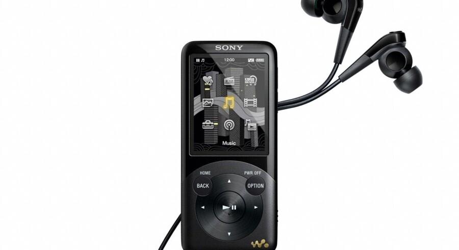 Sonys nyeste bud på en Walkman, som også kan afspille film. Foto: Sony