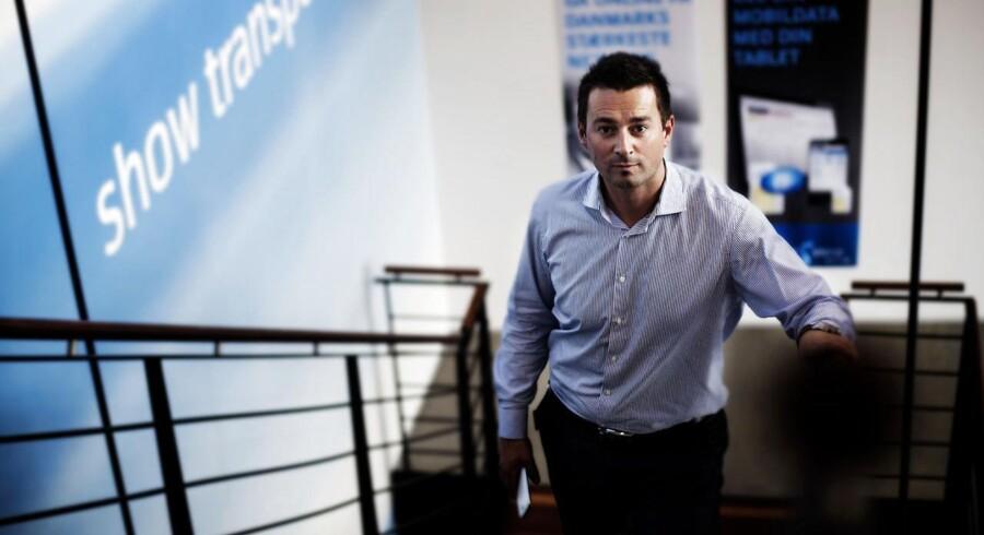 »Vi kan selvfølgelig ikke ændre hele branchen, men vi kan ændre os selv,« siger Telenors administrerende direktør i Danmark, Marek Slacik. Arkivfoto: Jeppe Bjørn Vejlø
