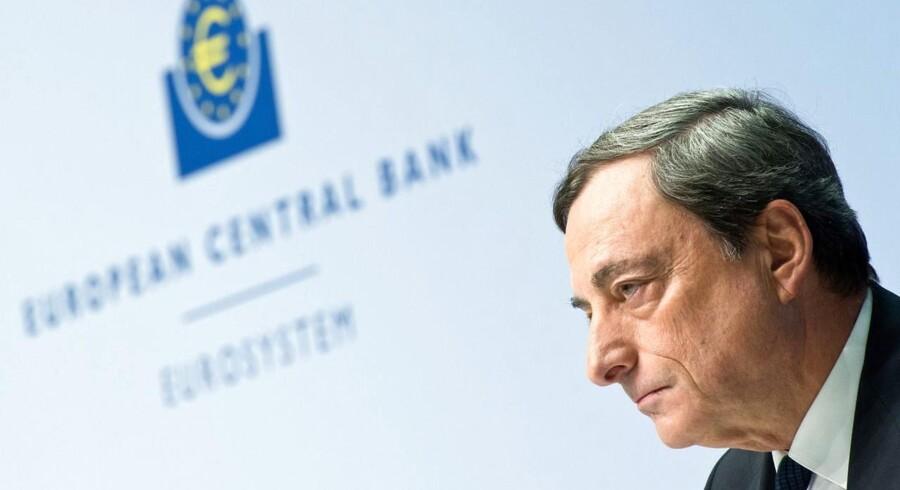 ECB-chefen Mario Draghi skal nok sørge for holde renterne ned, mener danske økonomer, men rekordernes tid er sandsynligvis forbi.