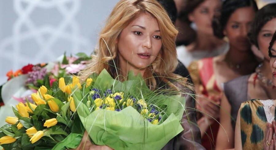 Den usbekiske præsidents datter, Gulnara Karimova, var indtil for nogle år siden landets ambassadør i Schweiz. Tidligere i år indefrøs de schweiziske myndigheder 800 millioner schweizerfrancs, som hun menes at have råderet over, i forbindelse med en sag om pengehvidvask. Både Telia og Telenor ser ud til at være indblandet i bestikkelsessager, hvor de gennem Karimovas skuffeselskab i Gibraltar har betalt under bordet for at få attraktive mobiltilladelser i landet. Arkivfoto: Sergei Ilnitsky, EPA/Scanpix