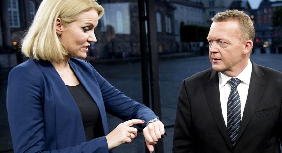 Helle Thorning og Lars Løkke Rasmussen