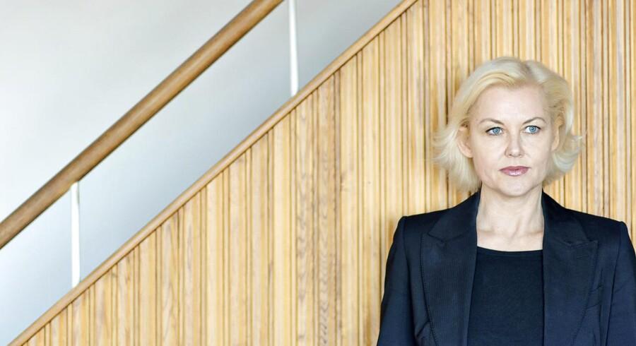 Anne-Marie Vedsø Olesen er aktuel med romanen »Mordersken«.