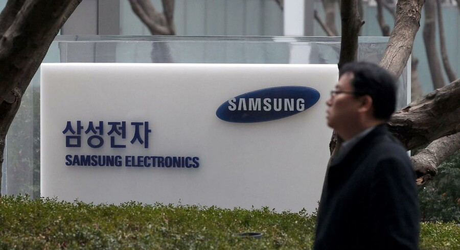 Samsungs overskud bliver mindre end ventet i oktober-december og bryder dermed med ni rekordkvartaler. Foto: Jeon Heon-Kyun, EPA/Scanpix