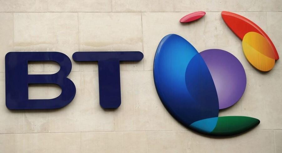 BT - det tidligere British Telecom - bliver nu presset af myndighederne til at give konkurrenterne bedre plads, også rent fysisk. Arkivfoto: Ben Stansall, AFP/Scanpix
